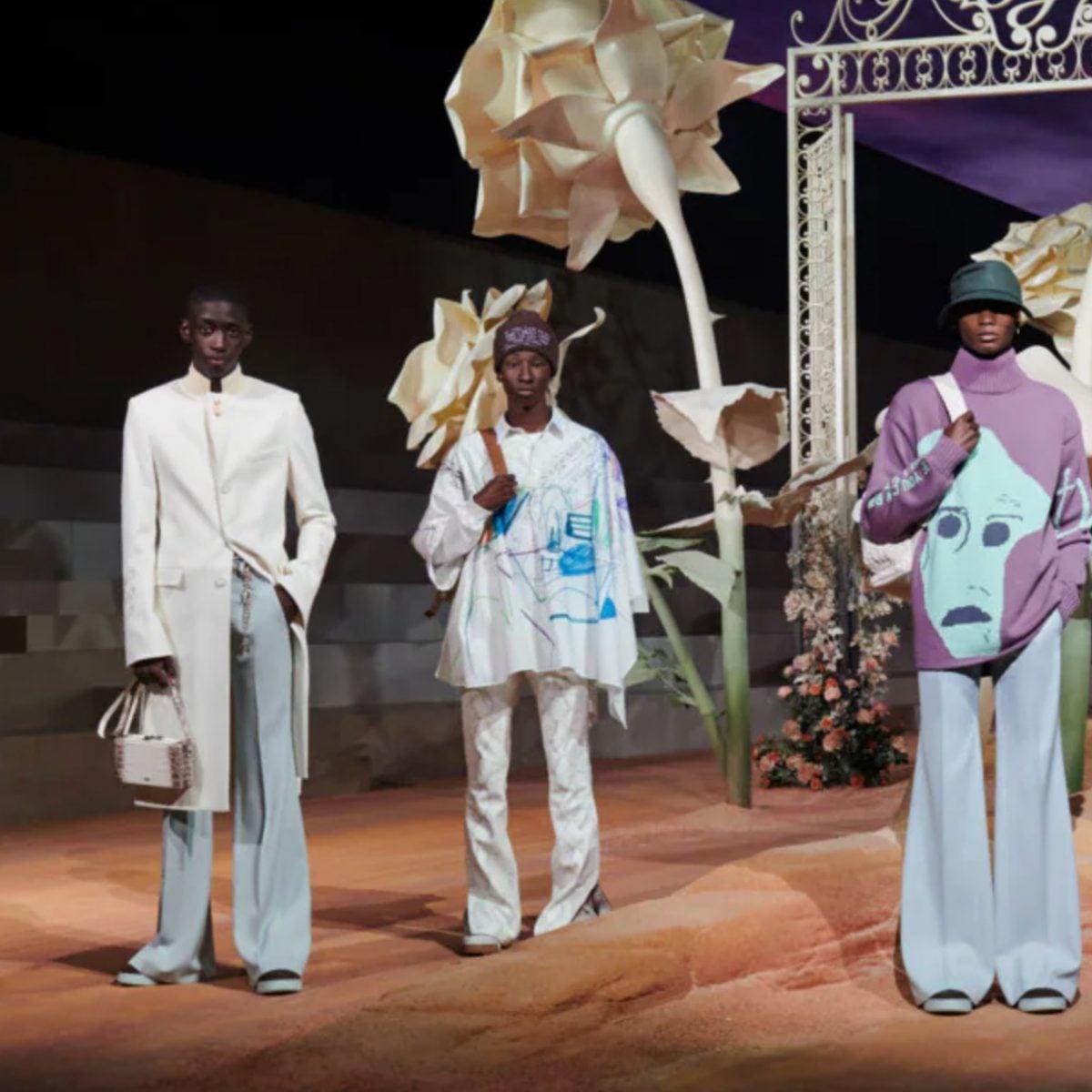 Travis Scott's Dior Collection Cactus Jack Was A Runway Rager