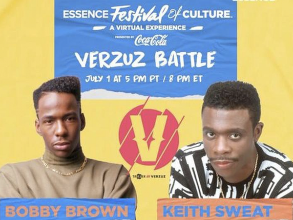 9 Moments We Loved From Bobby Brown Verzuz Keith Sweat During ESSENCE Festival