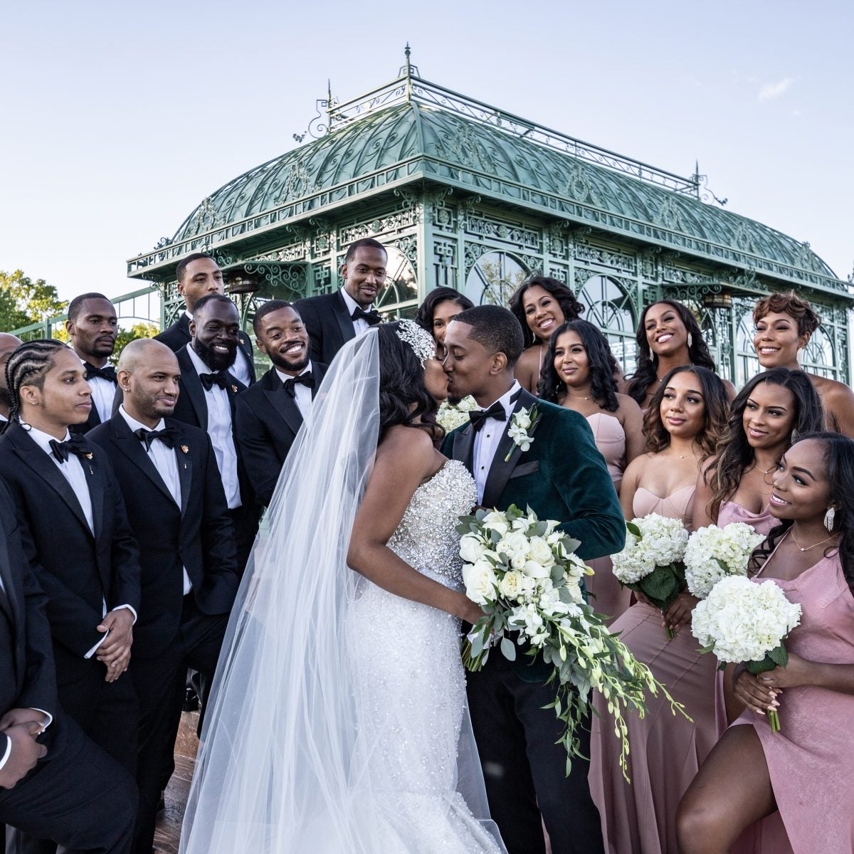 Bridal Bliss: High School Friends Turned Lovers, Nia And Shakeel's Vineyard Wedding Will Blow You Away