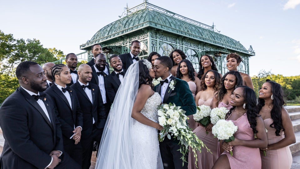 High School Friends Turned Lovers, Nia And Shakeel's Vineyard Wedding Will Blow You Away