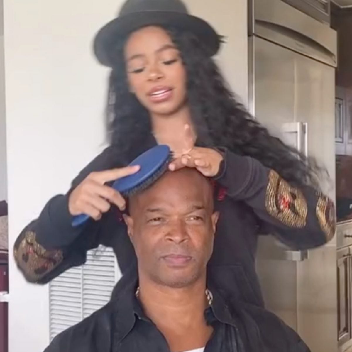 Damon Wayans' Granddaughter Is Almost As Funny As Him (And Looks Just Like Kim) In Fun Family TikTok