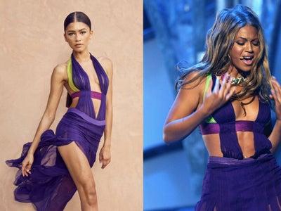 Zendaya Paid Homage To Beyoncé With Her 2021 BET Awards Look