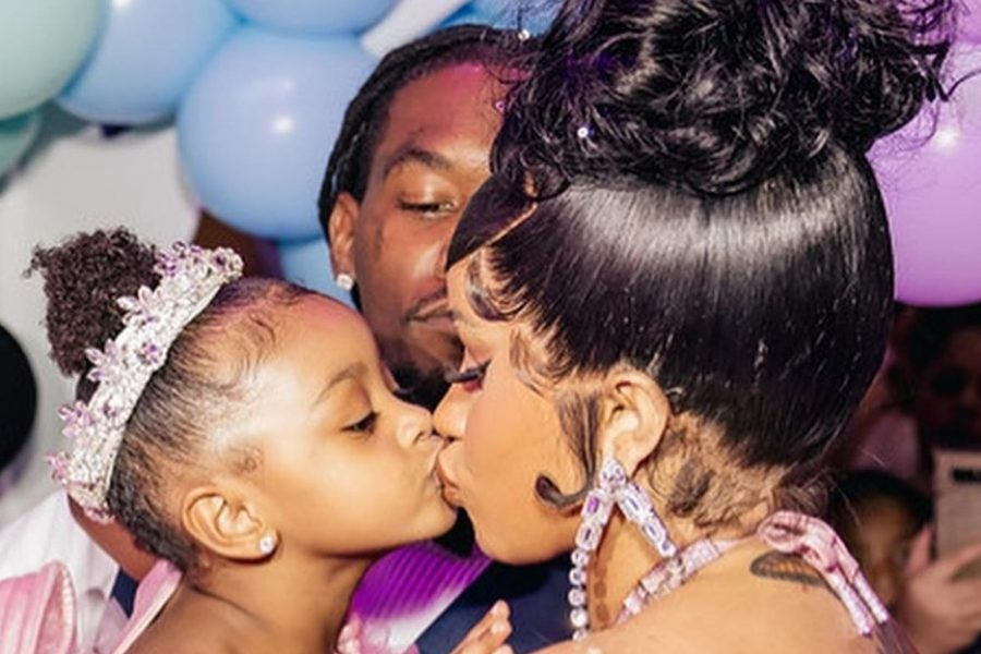 Cardi B Threw A Princess-Themed Birthday Party For Her Daughter