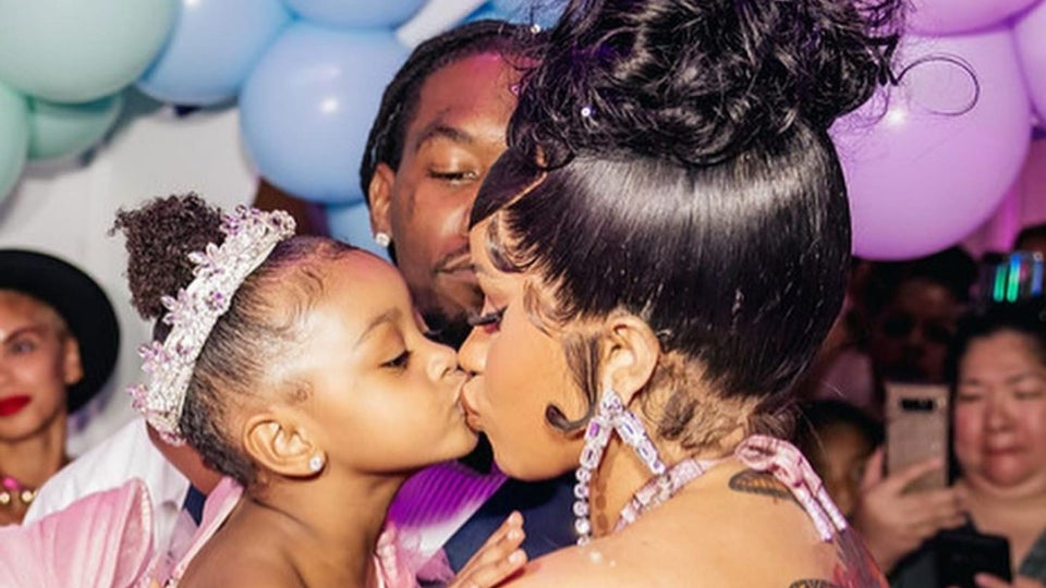 Check Out The Princess-Themed Birthday Party Cardi B Threw For Her Daughter