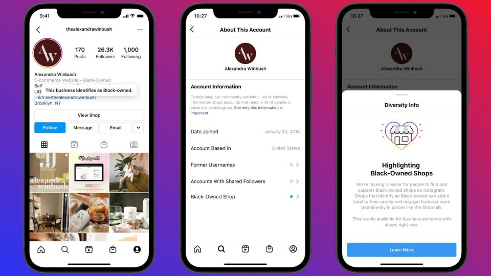 Instagram Now Allows Entrepreneurs To Have Black-Owned Business Label On Their Accounts