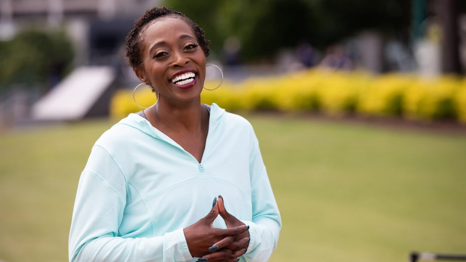 Olympic Legend Gail Devers' Signature Nails Were Stylish — And A Sign She Had Control Of Her Graves' Disease