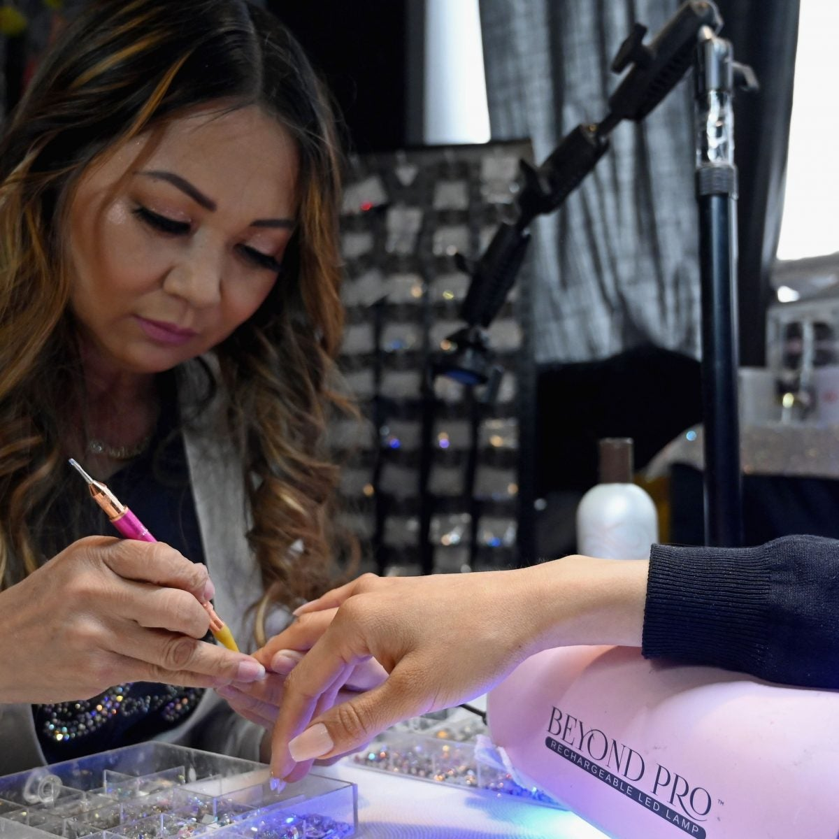 Cardi B's Nail Tech Created A Line Of Press-On Nails That Are Blinging