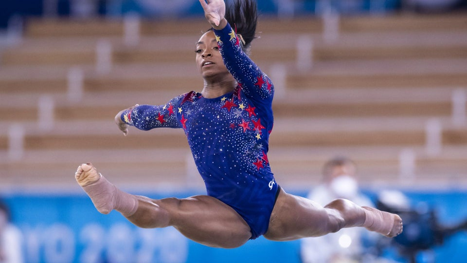 Simone Biles Is Feeling The 'Weight Of The World' On Her Shoulders At The Olympics