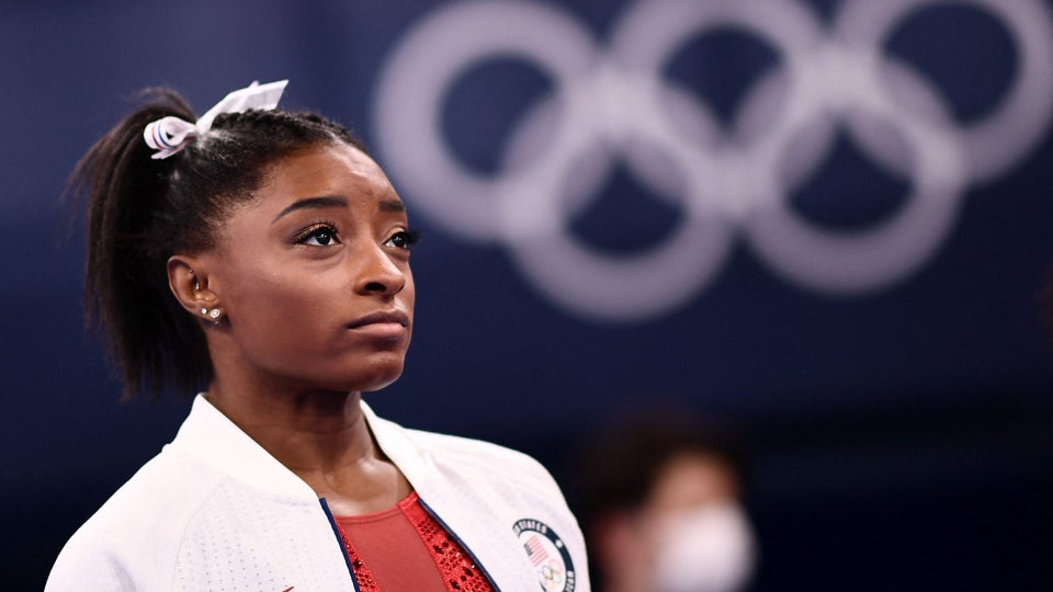 Simone Biles Withdraws From Women's Team Gymnastics Finals At Olympics
