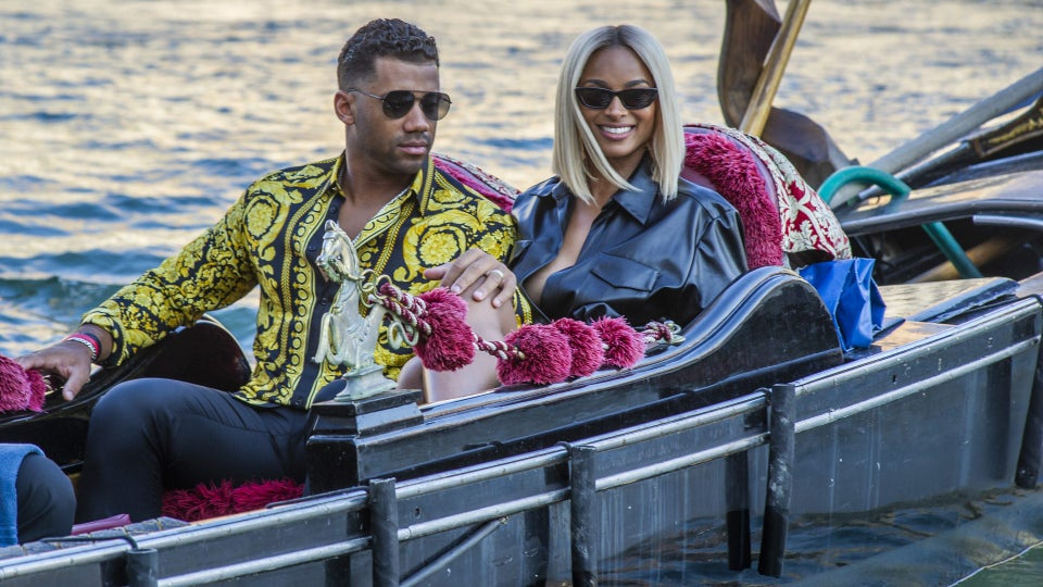 Russell Wilson Surprised Ciara With A Romantic Getaway To Venice For Their Five-Year Anniversary