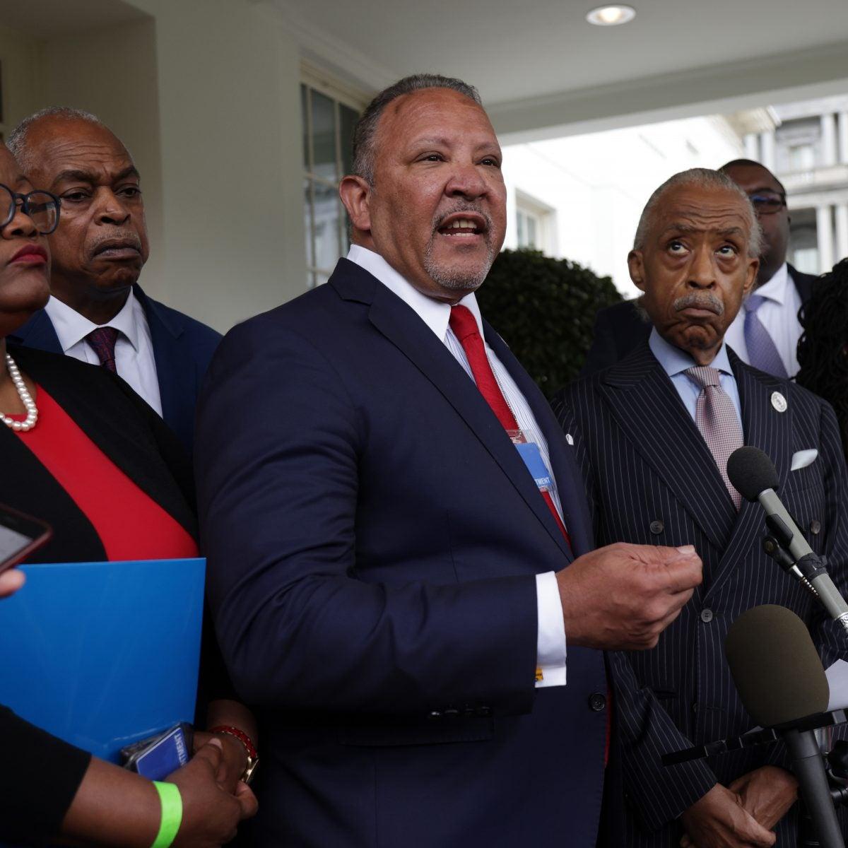 Civil Rights Groups Meet With President Biden, Vice President Harris