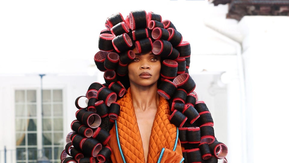 Pyer Moss's Fall 2021 Couture Collection Was Dedicated To The Erasure Of Black Inventors