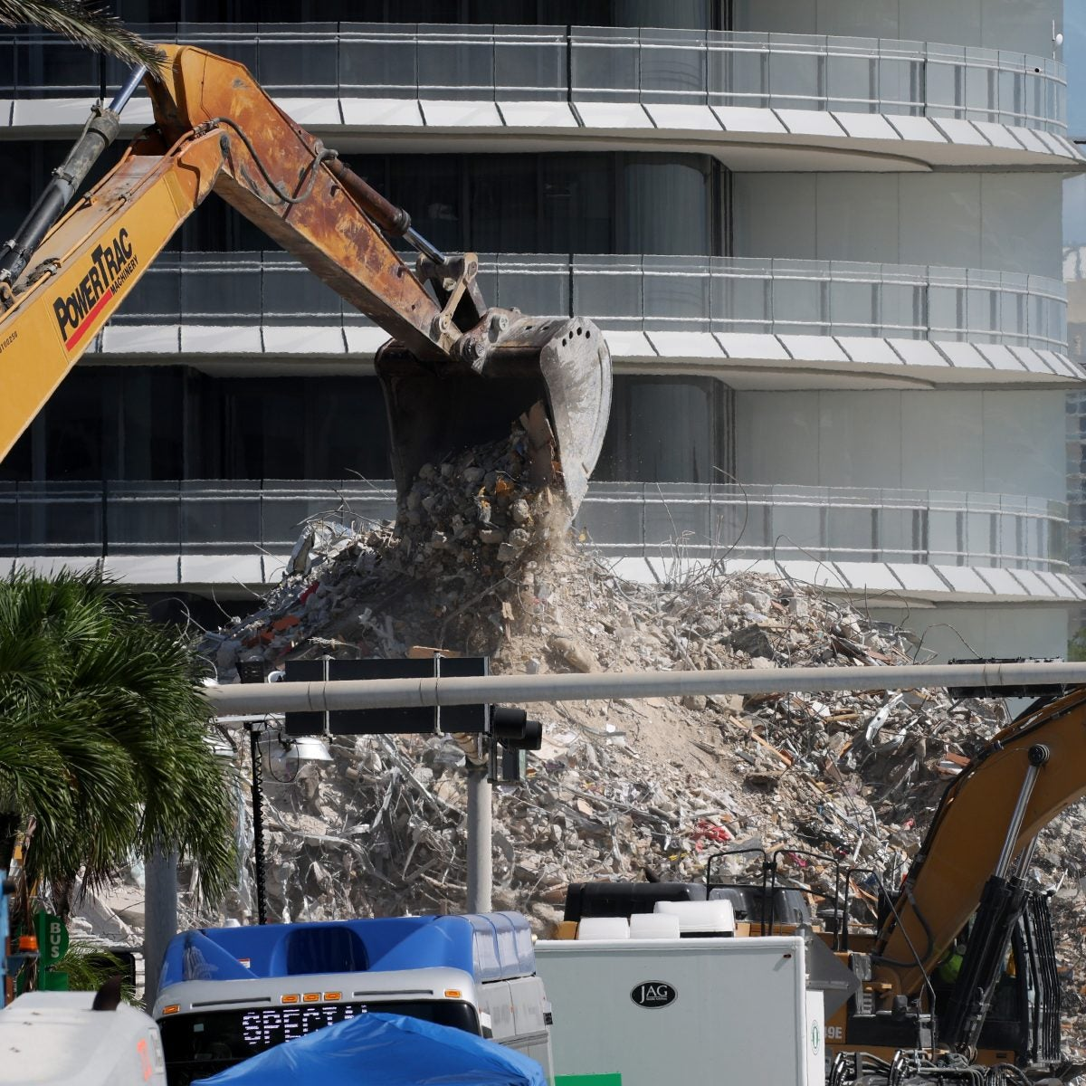 Surfside Building Collapse Death Toll Rises to 94
