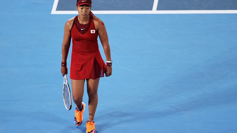 Naomi Osaka Eliminated From Olympics Tennis After Losing Third Round