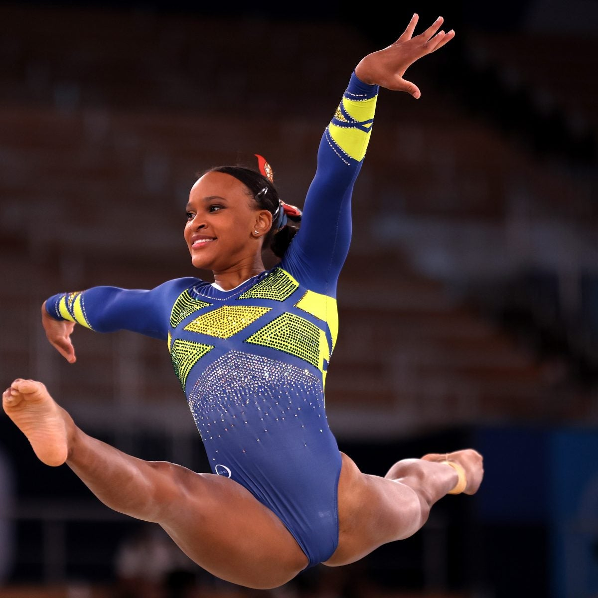 Rebeca Andrade Is The First Brazilian To Win An Olympic Medal In Women's Artistic Gymnastics