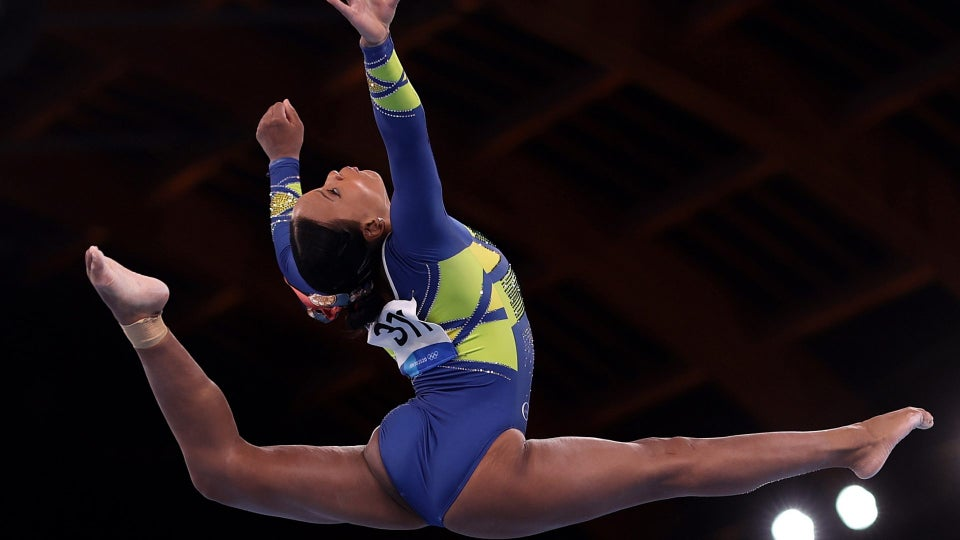 Rebeca Andrade Makes History As The First Brazilian To Win An Olympic Medal In Women's Artistic Gymnastics
