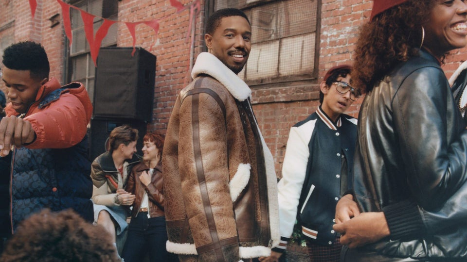 """Michael B. Jordan Joins Coach's Fall Campaign To Show The Importance Of Being """"With Friends"""" – EXCLUSIVE"""