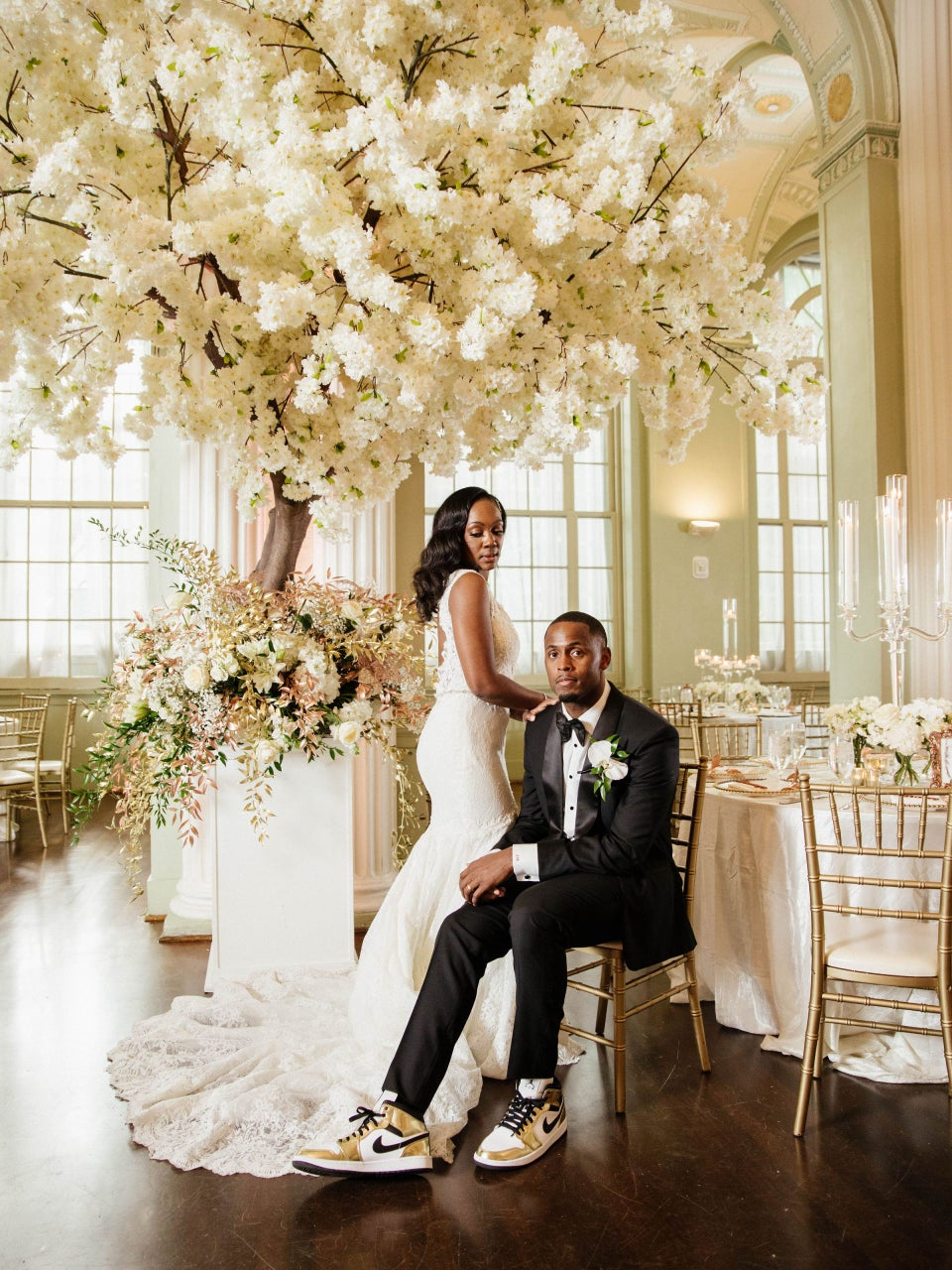"""Bridal Bliss: Courtney And Torrey Said """"I Do"""" In A Stunning Fourth of July Fête"""