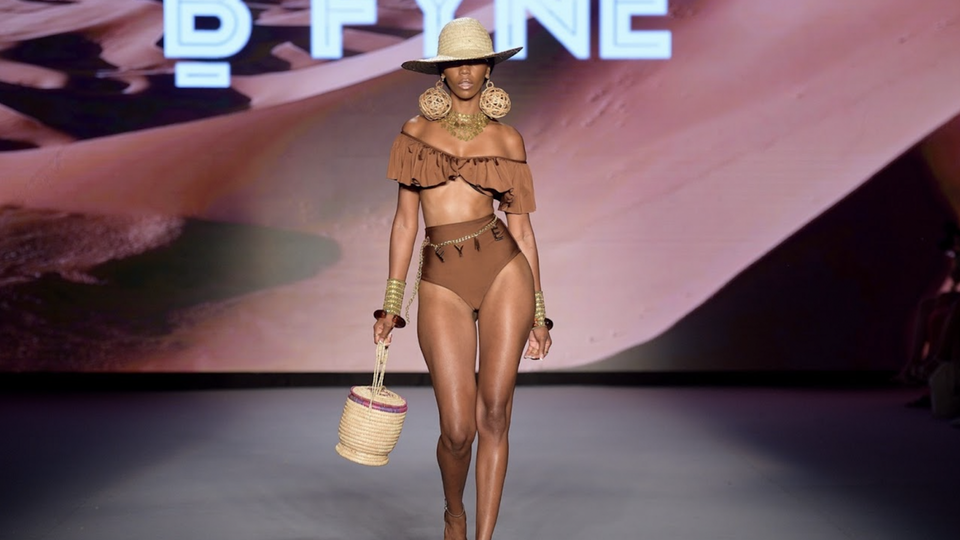 BFYNE Sends An Empowering Message By Enlisting All Black Models At Miami Swim Week 2021