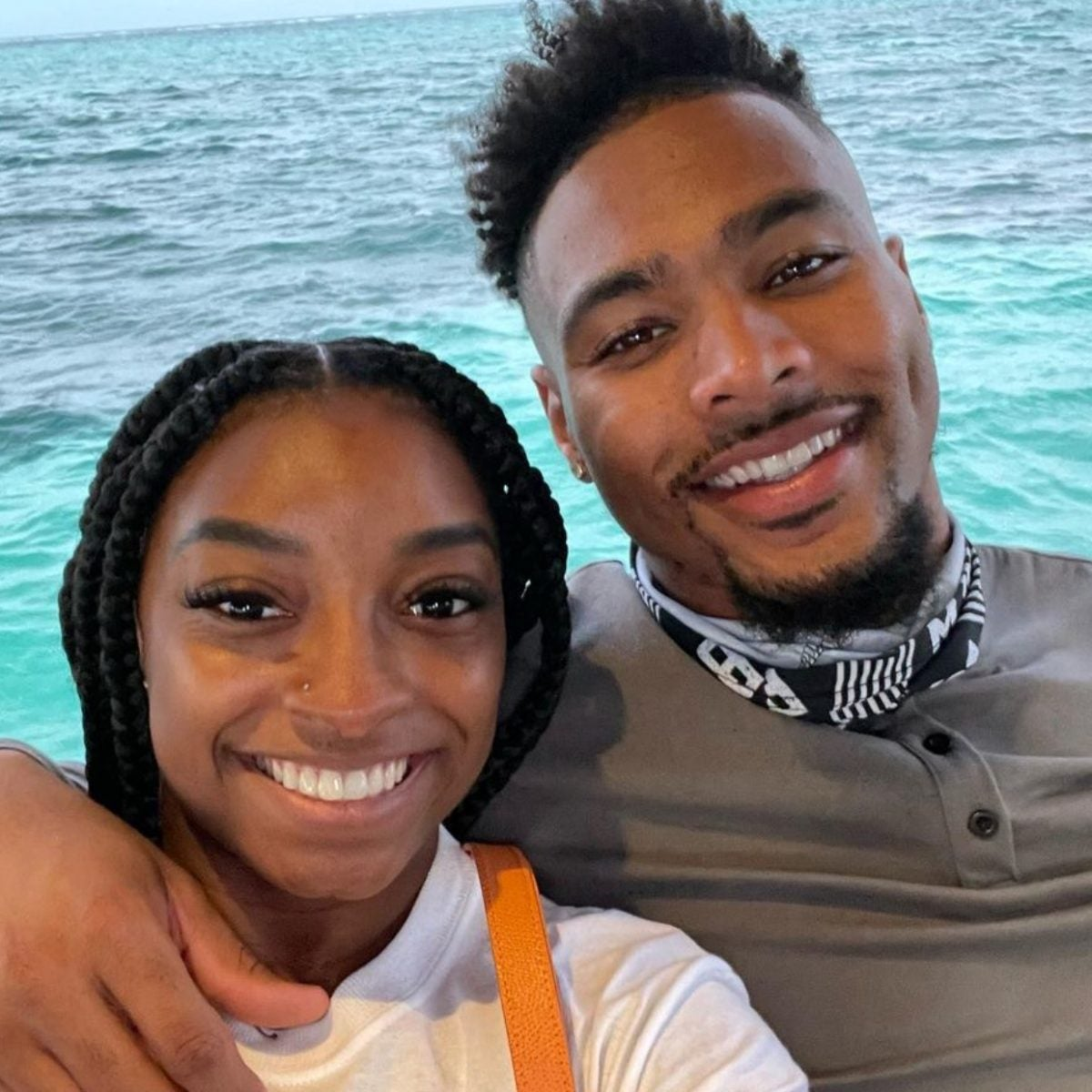 Simone Biles' Boyfriend Publicly Praises Her Amid Support, Criticism: 'Imma Ride With You Through Whatever'