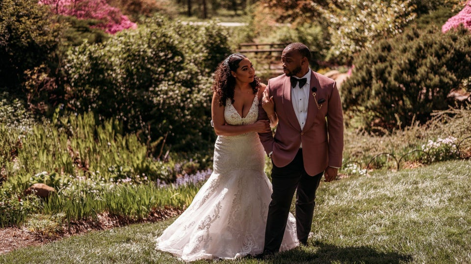 Bridal Bliss: Iman And Anthony's Wedding Was Filled With Lush Greenery And Lots Of Love