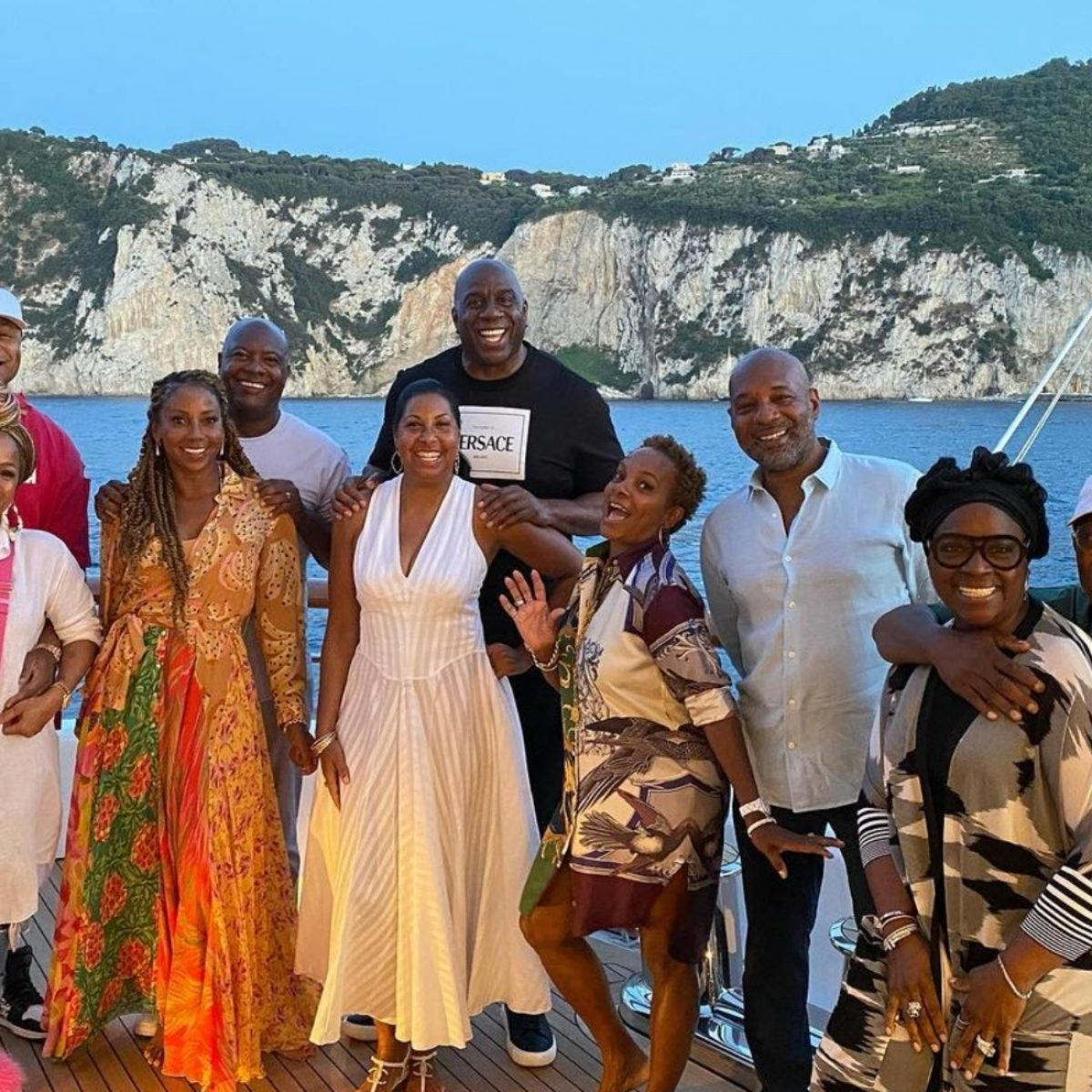 Your Favorites Linked Up For A Star-Studded Couples Trip To Italy