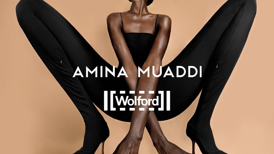 Wolford and Amina Muaddi Create An Exclusive Capsule Collection Of Luxury Skin Wear