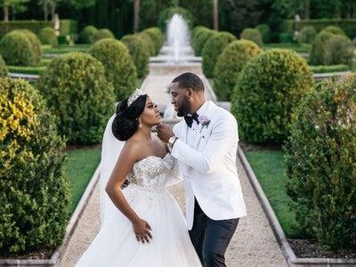 Bridal Bliss: After A Health Crisis, Jordan And Naomi Celebrated Life And Love Like Black Royalty