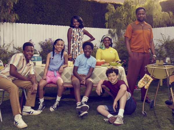 Exclusive: Take A First Look At The Beautiful Black Family In 'The Wonder Years'