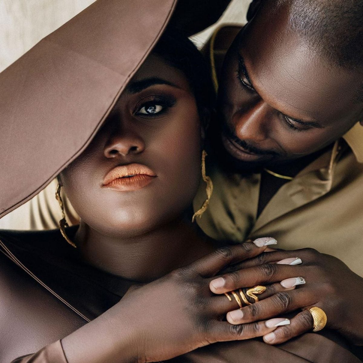 Danielle Brooks and Her Fiancé Dennis Gelin Are Breaking The Internet With Their Sexy Engagement Photos