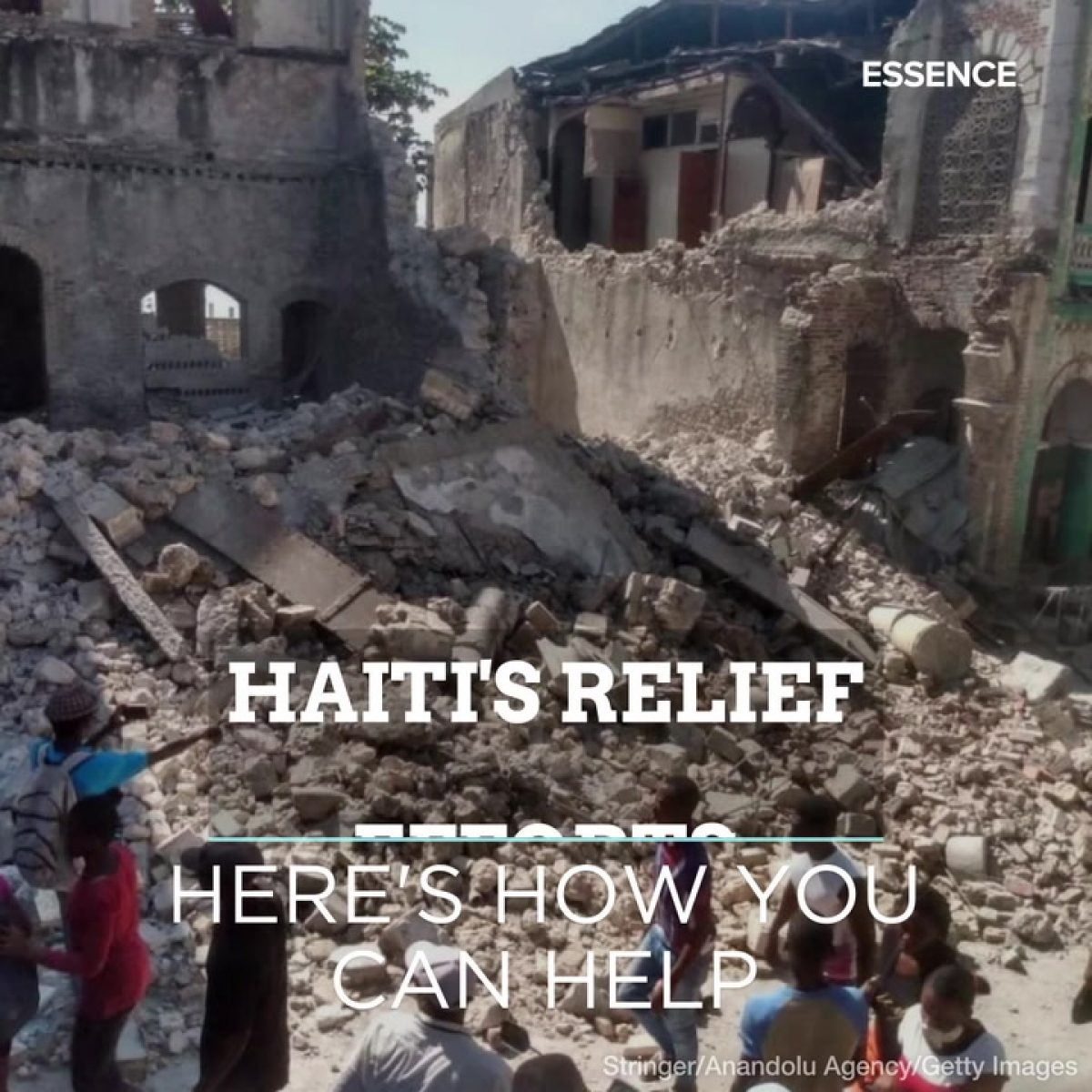 Here's How You Can Help Haiti's Relief Efforts