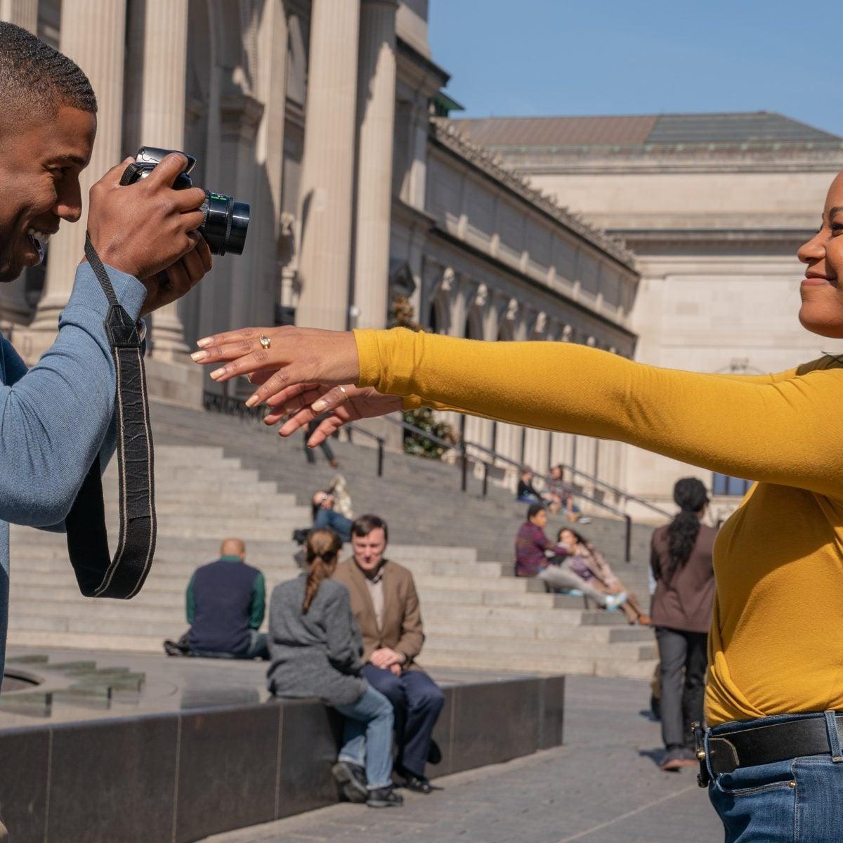 'A Journal For Jordan': Michael B. Jordan Says Working With Denzel Washington Was 'Healthy Pressure'
