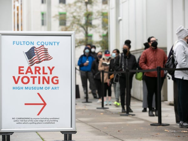Georgia is Showing Out: 95% of Eligible Voters Now Registered to Vote