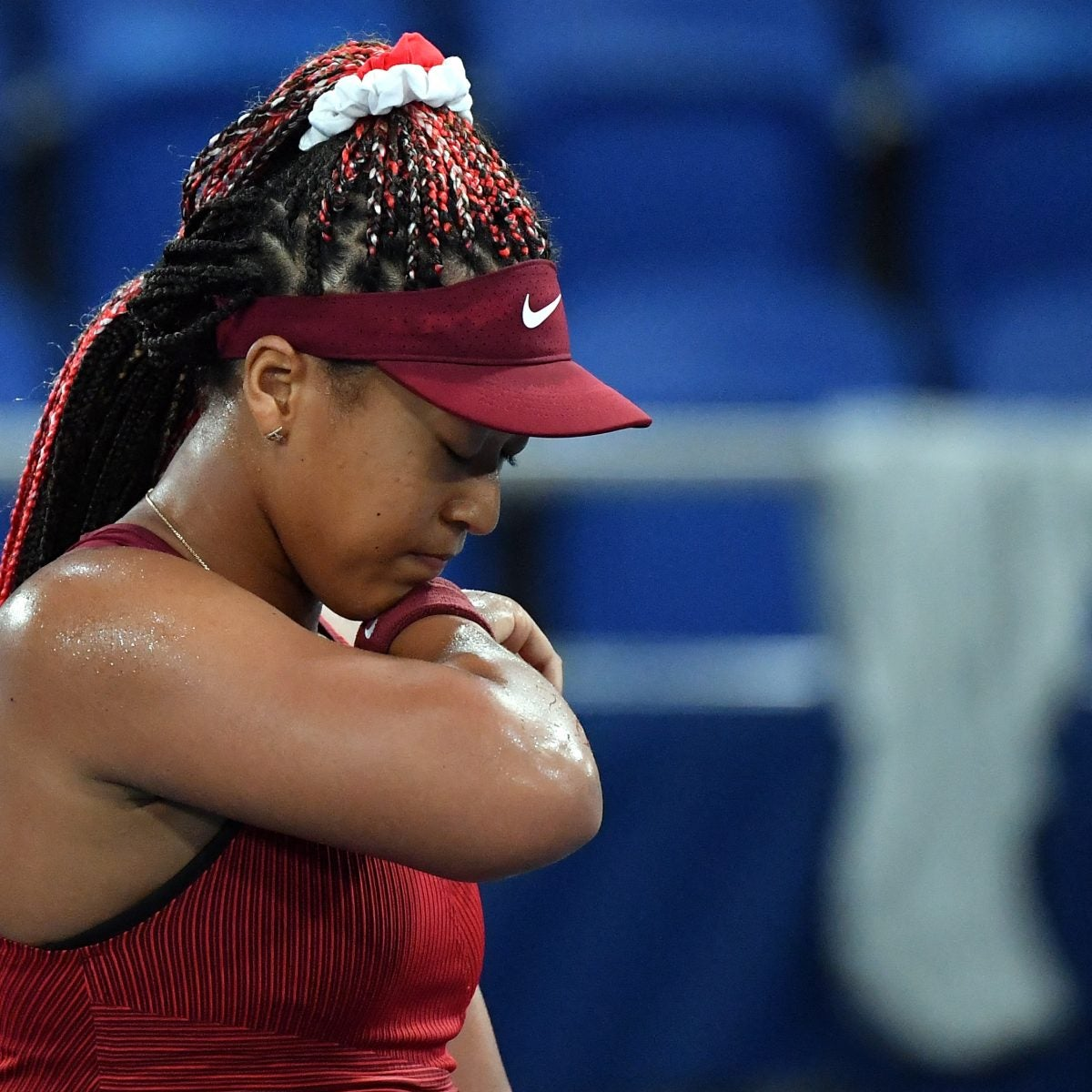 Naomi Osaka Cries After Journalist Asks A Question Her Rep Says Was Meant 'To Intimidate'