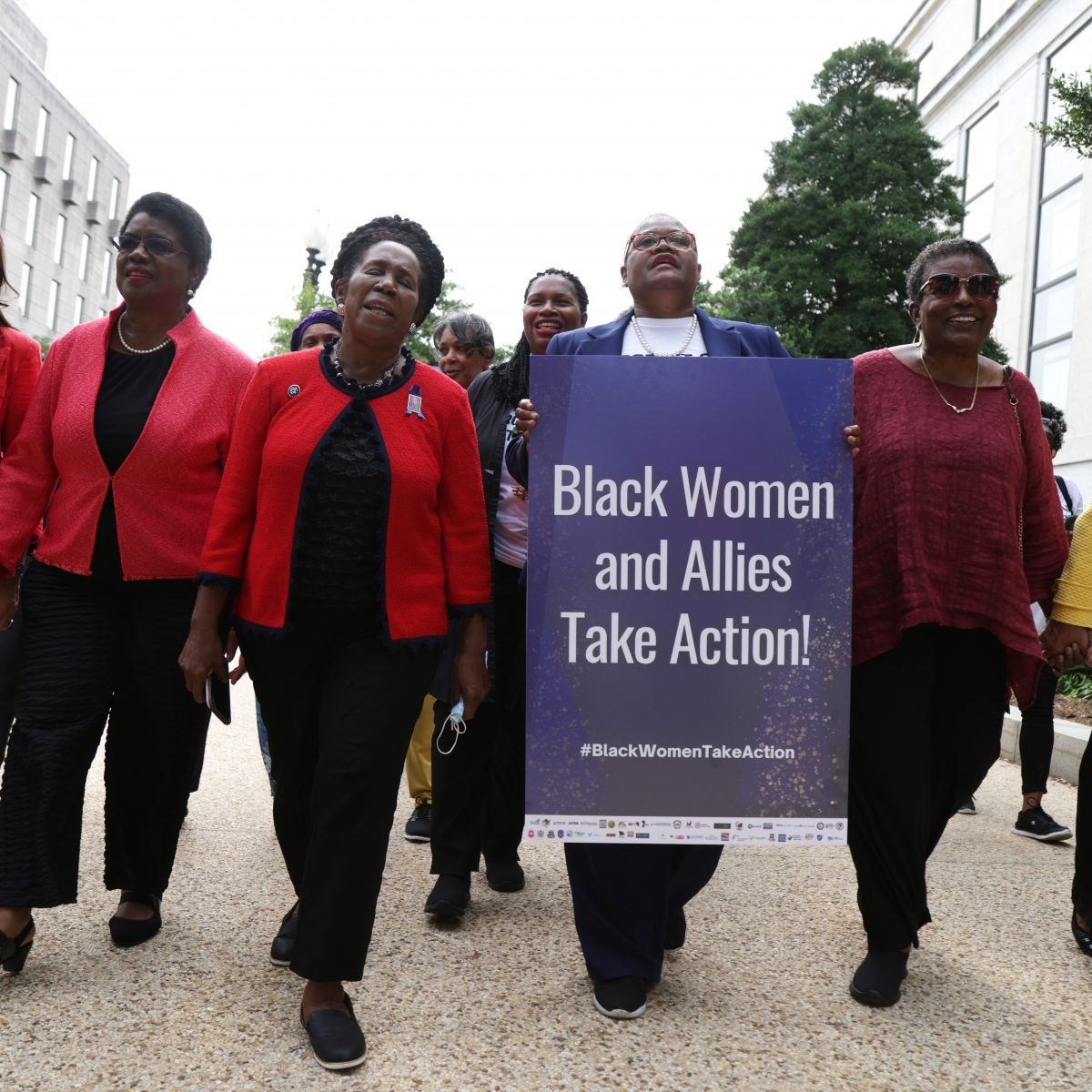 Congresswoman Sheila Jackson Lee, Fellow Black Women Leaders and Allies Arrested in Latest Voting Rights Protests