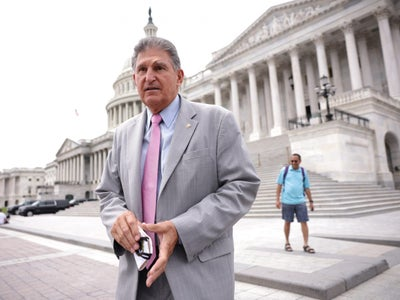 Joe Manchin is Lone Democrat to Support Law Defunding Critical Race Theory. Except it Has Nothing to Do With Critical Race Theory.