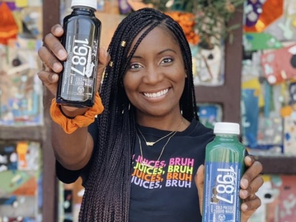 Meet The Black Woman On A Mission To Change Lives — One Juice At A Time