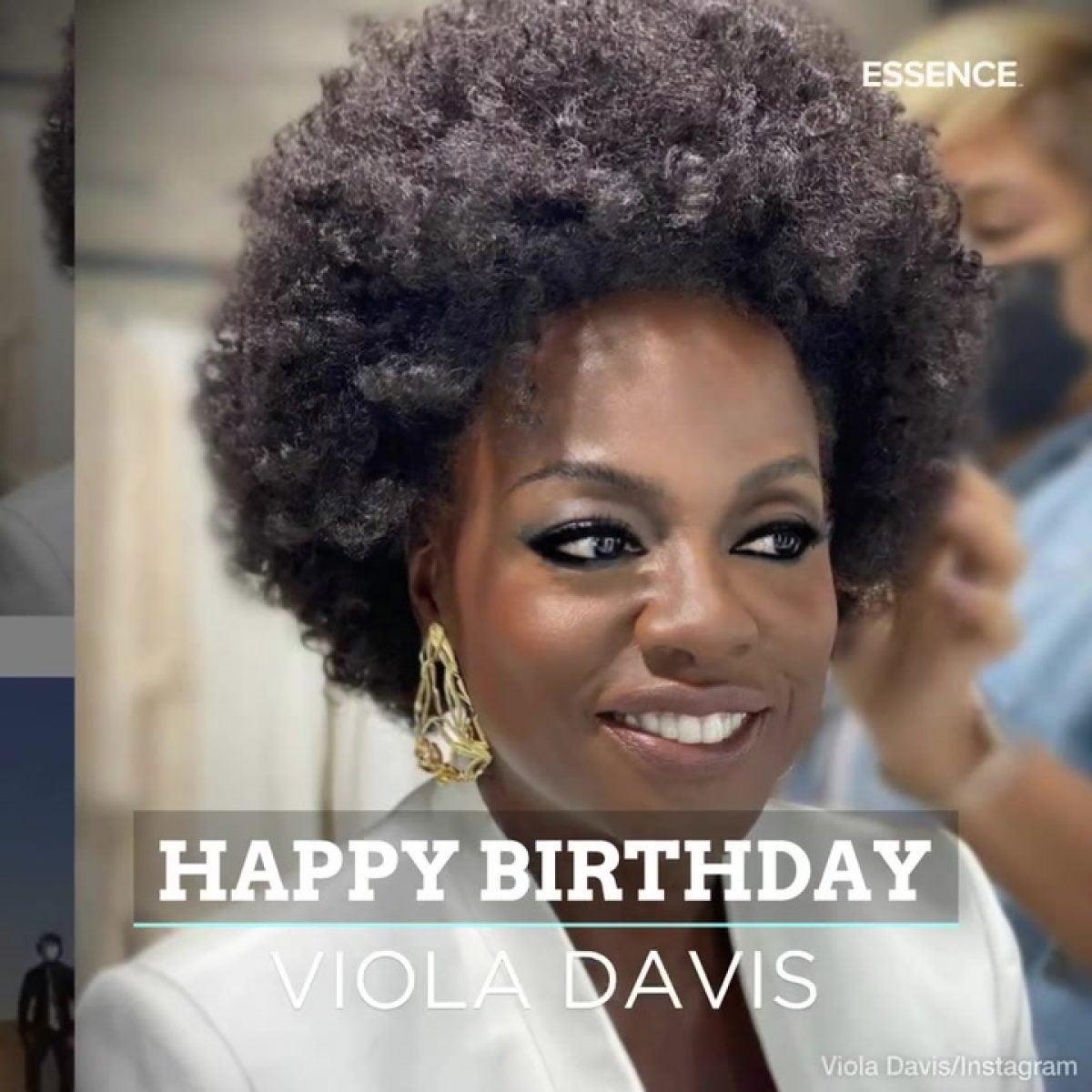 Happy Birthday Viola Davis | IMF