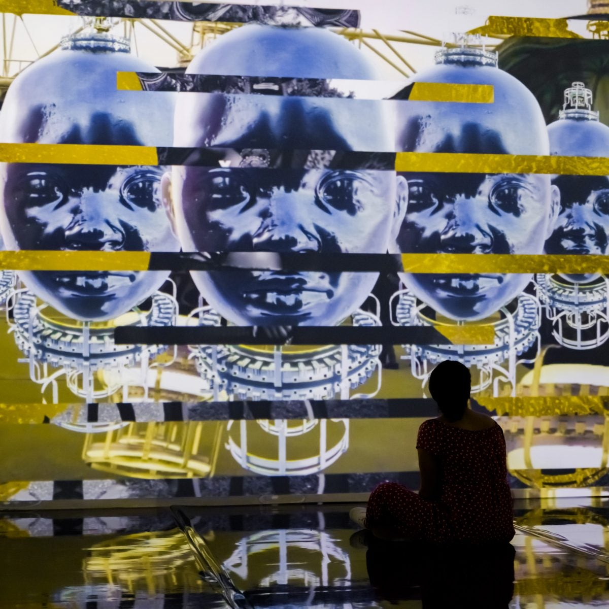 The Stories of Black People Don't Begin With Slavery. This New Pan-African Exhibit Blending Art and Technology Shows How.