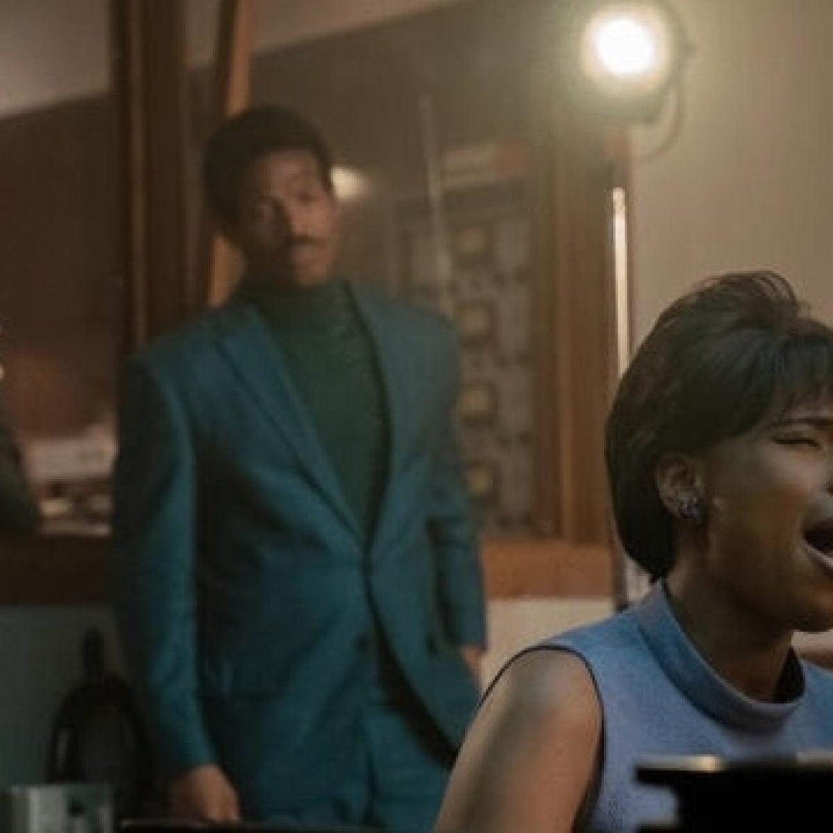 Jennifer Hudson On How She Got Over Her Nerves About Playing Aretha Franklin