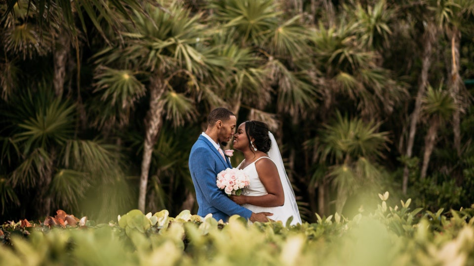 Bridal Bliss: Courtney And Michael Pulled Off A Stunning Destination Wedding With An Ocean Side Ceremony In Mexico