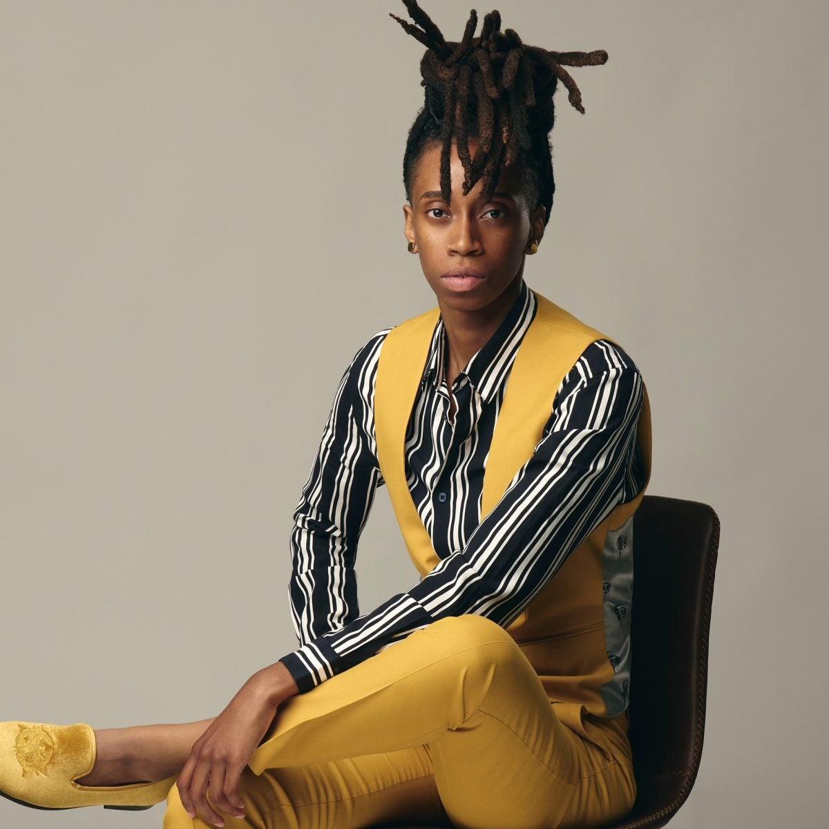 Ganesia Wveighlin Is The Youngest, Black Female Luxury Shoe Designer