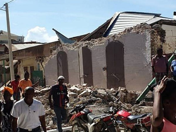 'Haiti Can't Catch A Break' Reactions To The Island's Deadly Earthquake