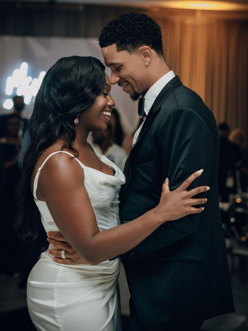 NBA Stars Josh Hart And Damian Lillard Wed Their High School And College Sweethearts And The Photos Are Everything