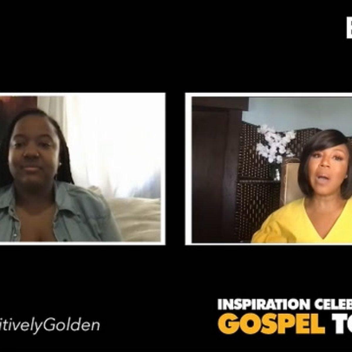 Erica C On Inspiration Celebration Gospel Tour