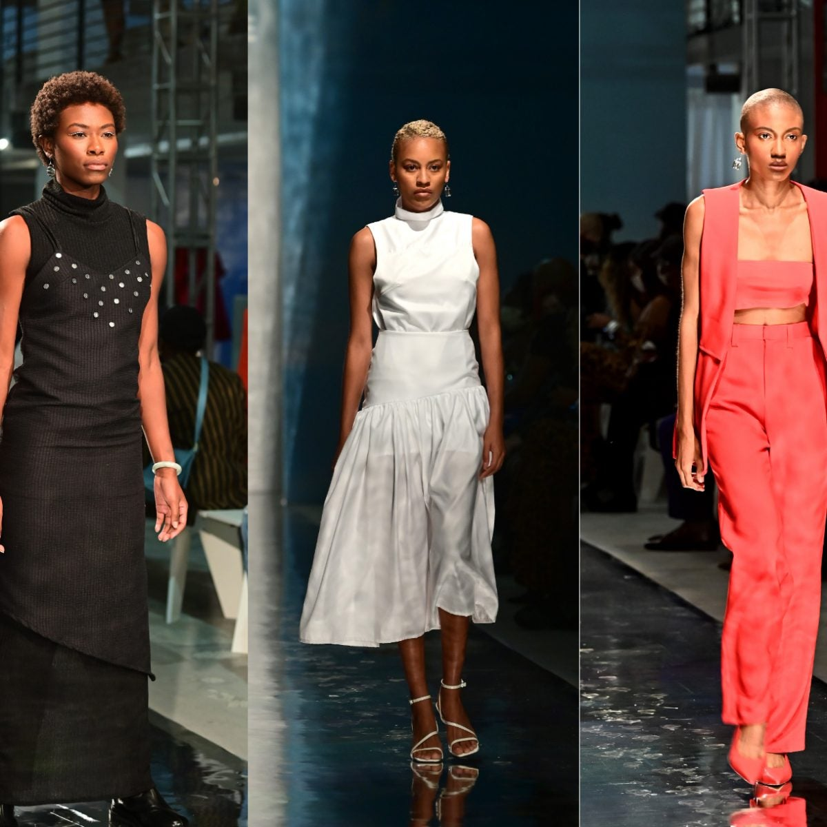 Runway Recap: Arc Of Andre SS2022 Collection Highlights Black Maternal Health Crisis At Essence Fashion House