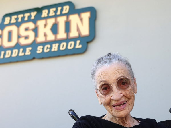 Ranger Betty Reid Soskin Gets Middle School Named After Her For 100th Birthday