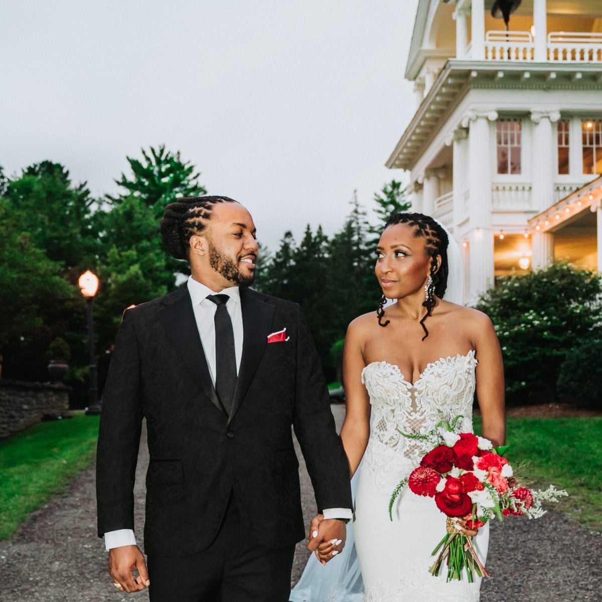 Bridal Bliss: Brooklyn Tea Founders Jamila And Ali's Charming Poconos Wedding Celebrated Black Love And Black-Owned Businesses