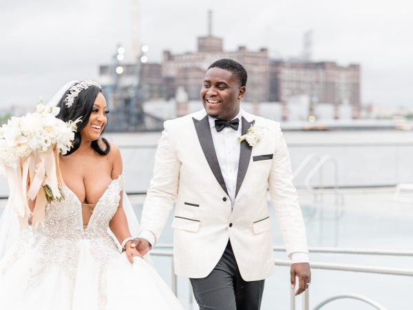 Bridal Bliss: Brought Together By A DM, Macee And Trae Said 'I Do' With A Breathtaking Bash In Baltimore