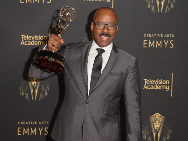 Courtney B. Vance Honors Michael K. Williams, Criticizes 'Lovecraft' Cancelation After Emmy Win